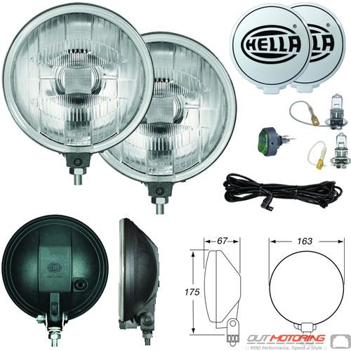 Hella 500 Driving Light Kit