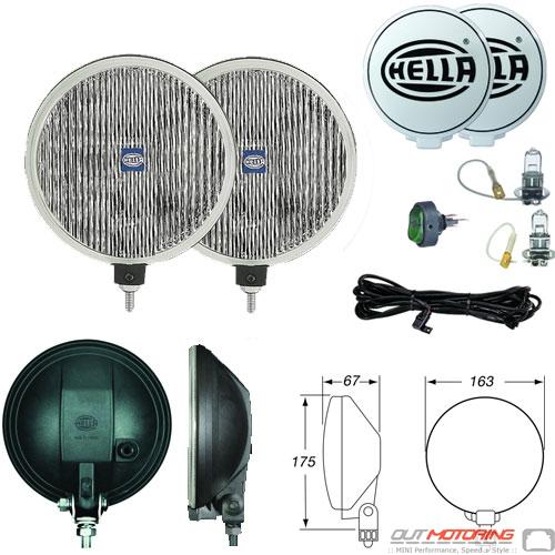 Hella 500 Fog Light Kit