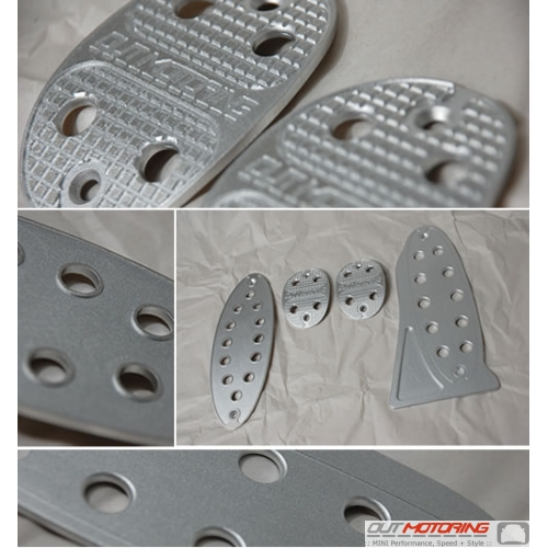 Out Motoring Grid Pedal Covers: Manual Transmission
