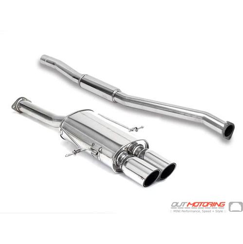 Exhaust: Hatchback R56/8 'S': Catback: NM Engineering