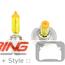 Bulb H7 Optilux Yellow Light