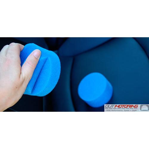 2 Blue Detail Sponges