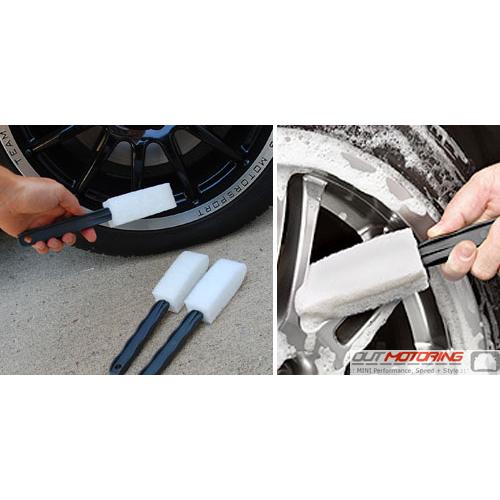 3 Wheel Scrubber Brushes
