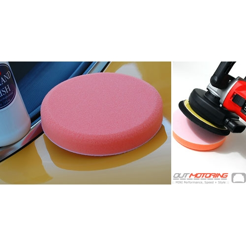 Griots Foam Polish Pad: Orange: 6.5""
