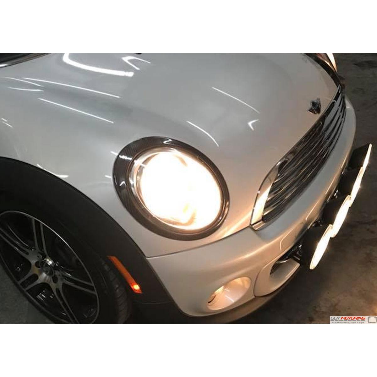 Out Motoring Driving Light Brackets R56 2007 MINI Cooper