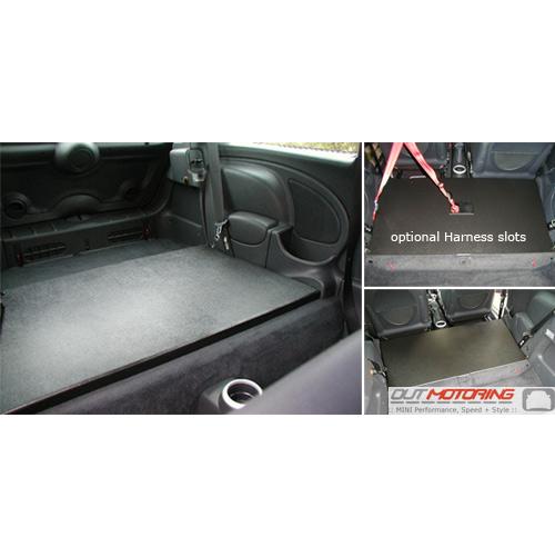 2006 Aston Martin Vantage Interior: MINI Cooper Rear Seat Delete Kit