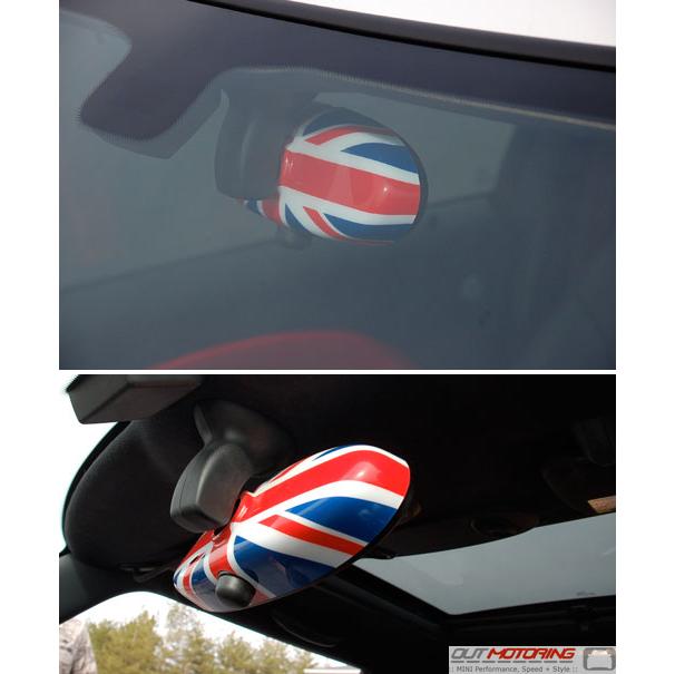 MINI Cooper Union Jack Rear View Mirror Cover