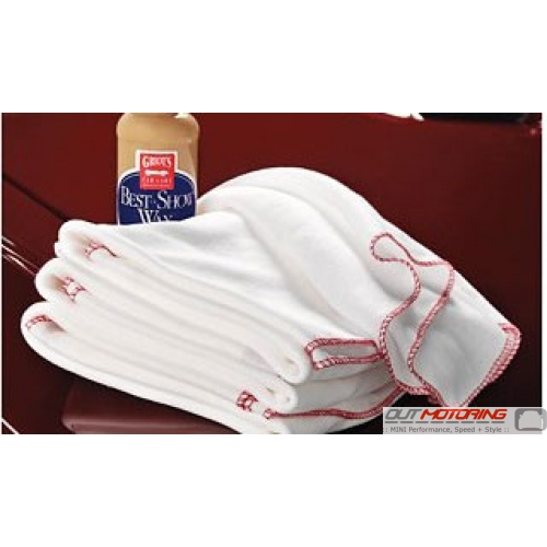Griots Ten Pack Cotton Buffing Towels