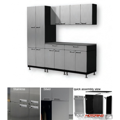 Hercke Precision Work Center with Cabinets