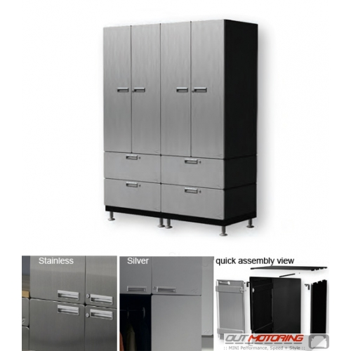 Hercke Storage Wall with Drawers