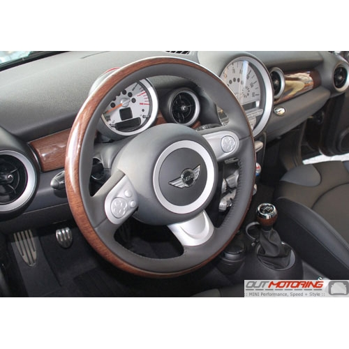 Gen 2 MINI Cooper Wood Interior Trim and Shift Boots Replacement ...