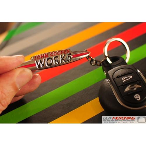 JCW Logo Keychain