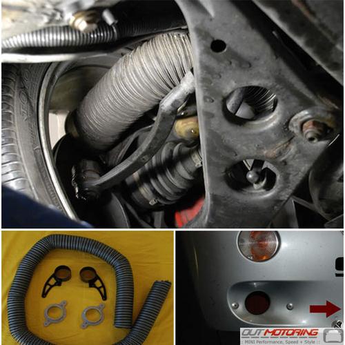 Brake Cooling Duct Kit