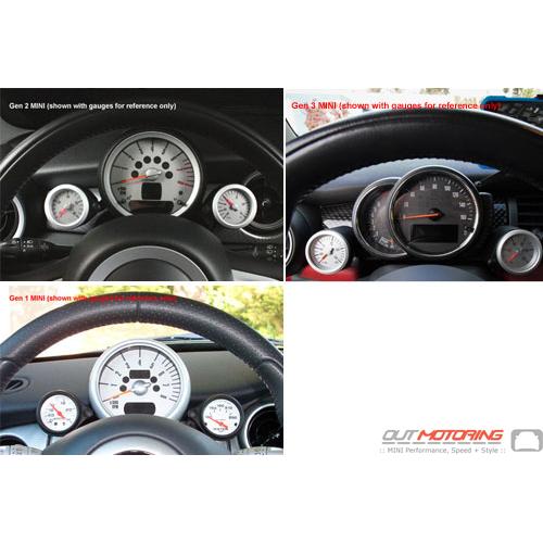 Gauge Bracket Kit Cravenspeed MINI Cooper Gauge 129442