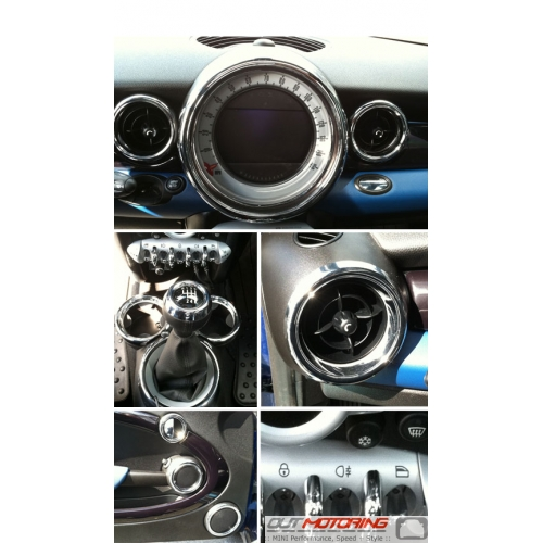 27 Piece Chrome Interior Trim Kit: Gen2