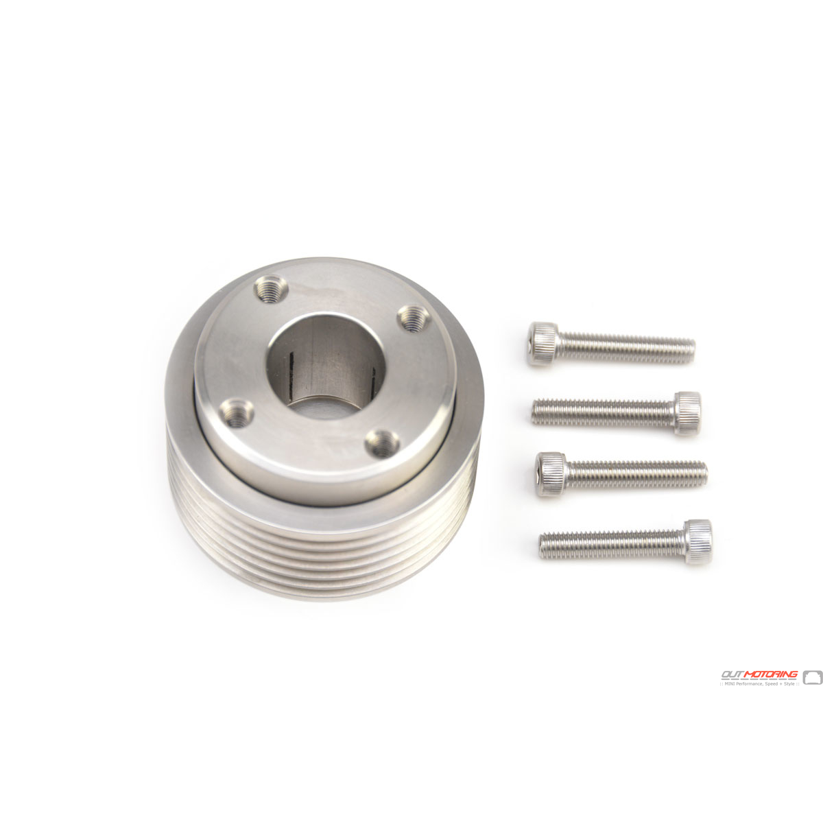 Kavs Lightweight Supercharger Pulley: Cravenspeed MINI Cooper Supercharged Reduction 15% 17