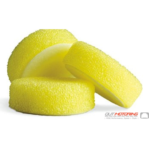 Griots Foam Scrubbing Pads: Yellow: 3""