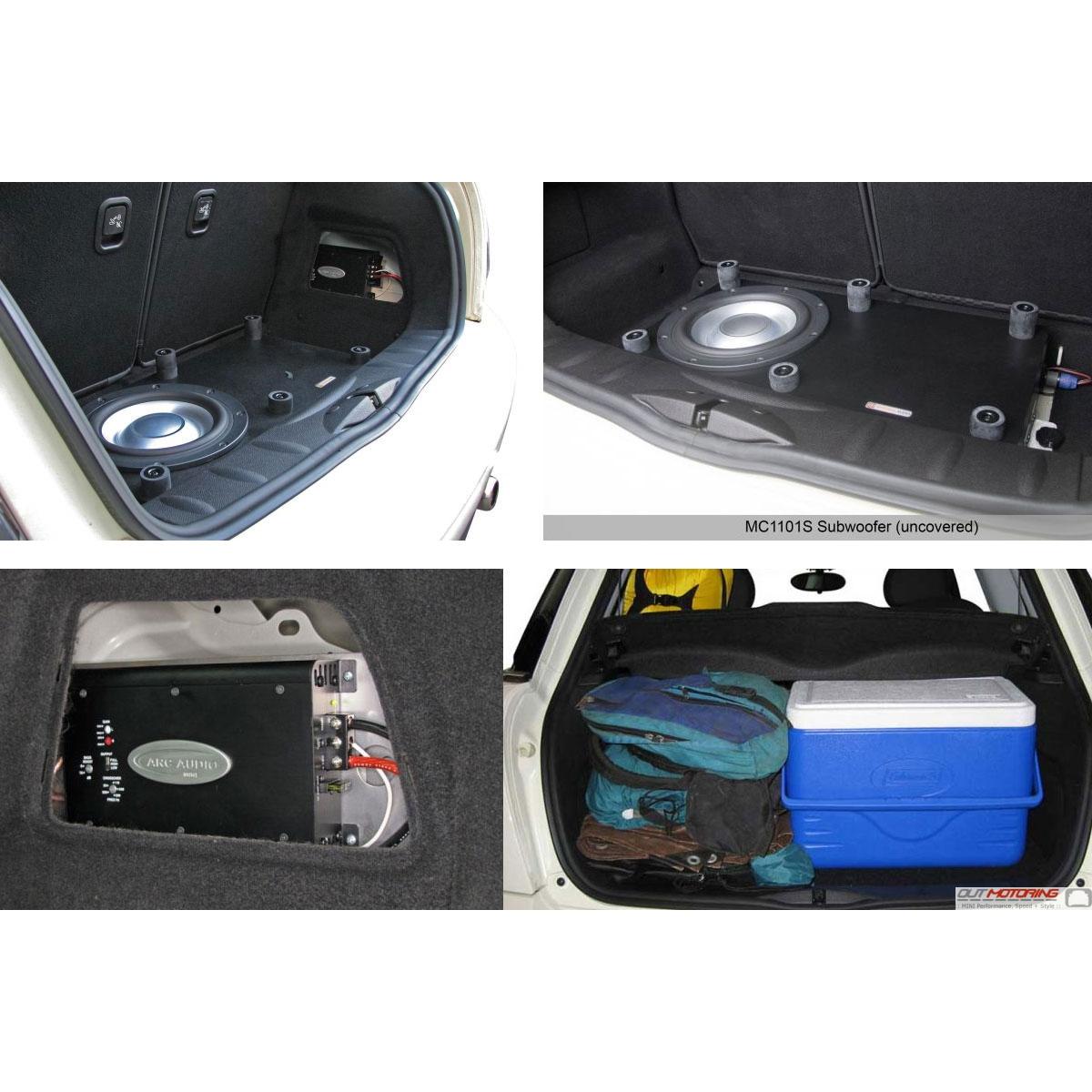 Mini Cooper Convertible For Sale >> MINI Cooper Bass Box and Amp Kit - MINI Cooper Accessories ...