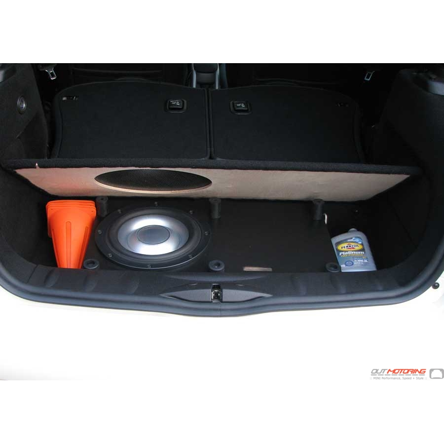 Mini Cooper Bass Box And Amp Kit Mini Cooper Accessories Mini