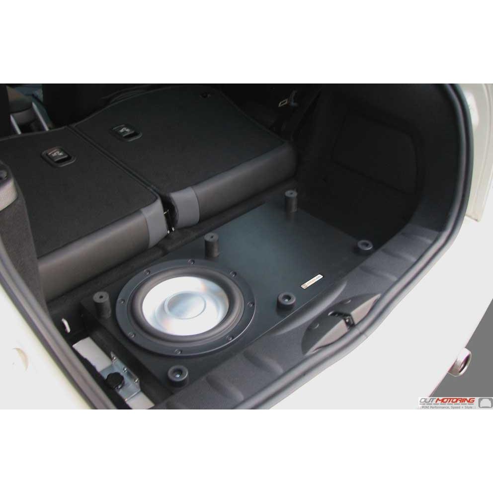 Mini Cooper Convertible For Sale >> MINI Cooper Bass Box and Amp Kit - MINI Cooper Accessories + MINI Cooper Parts
