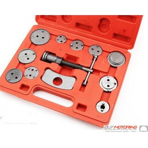 12 Piece Brake Caliper Piston Tool