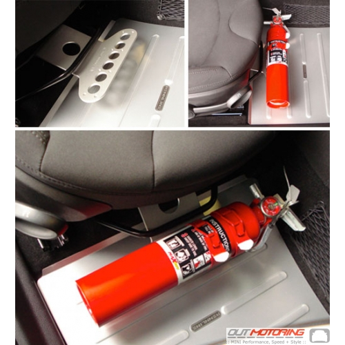 Fire Extinguisher + Seat Mount