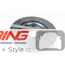 Brake Rotors: OEM JCW Cross Drilled + Slotted: Front