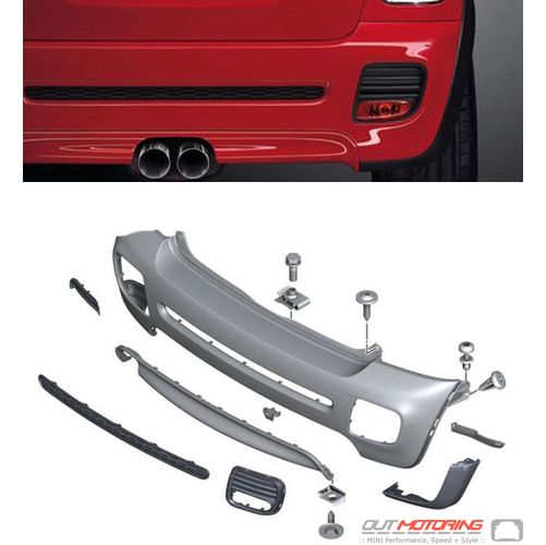 John Cooper Works Rear Bumper Kit