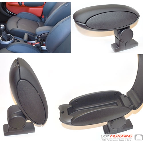 R60 Mini Countryman Cooper Front Armrest Mini Cooper Accessories Mini Cooper Parts