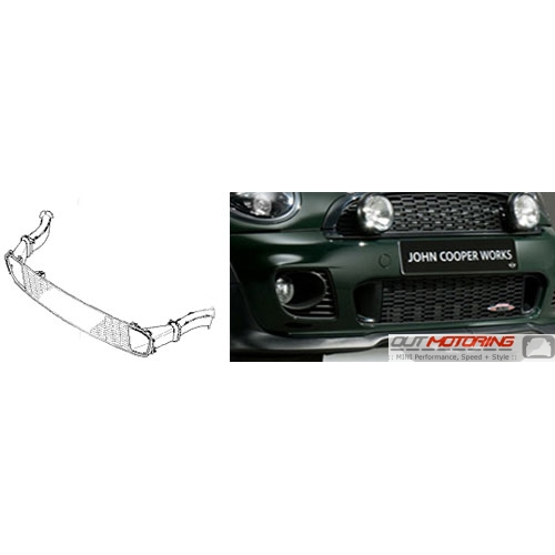 Front Lower Grill Kit w/ Brake Ducts: JCW