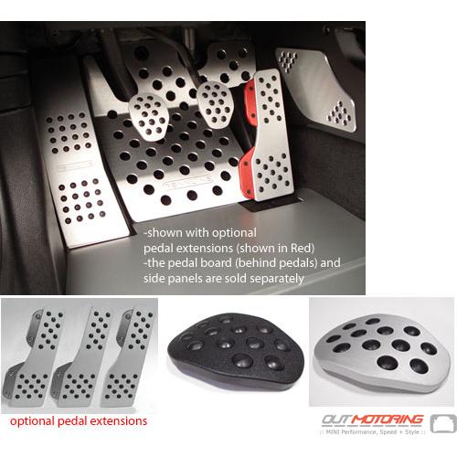Rennline Aluminum Pedal Set