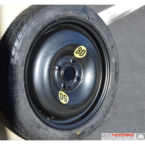 Micro Spare Tire + Wheel: 4 Lug
