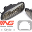 Black Jack LED Rear Fog Lamps: Gen2 Cooper S