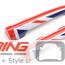 Door Handle Covers: Union Jack: Rear: R55