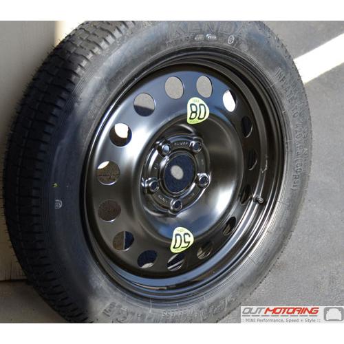 Micro Spare Tire Wheel 5 Lug R60 R61