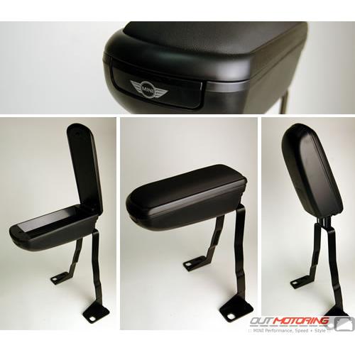 Fliptop Armrest w/ Storage: R55/6/7/8/9