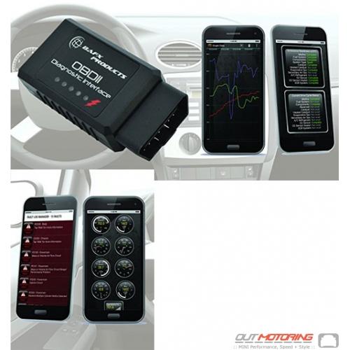 OBD Scanner Module:  Bluetooth