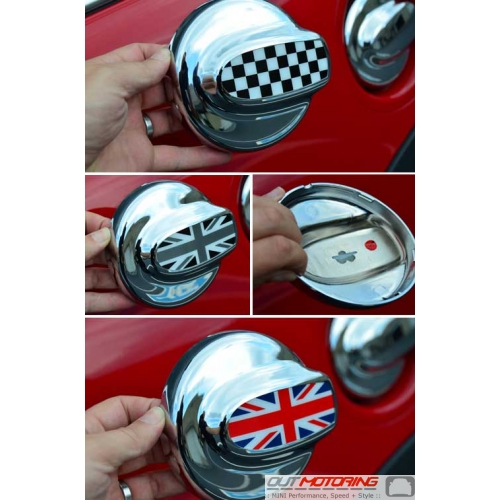 Gas Lid Cover: W/ Accent Badge: R55/6