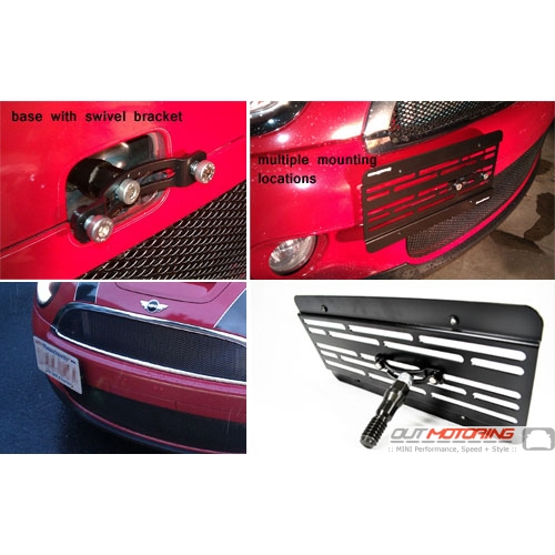 Grimspeed License Plate Relocation Kit
