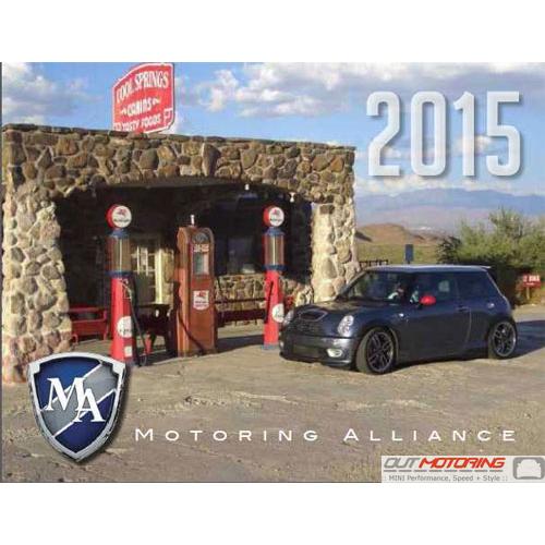 Mini Cooper Accessories 2013 >> Motoring Alliance 2013 Calendar Mini Cooper Accessories