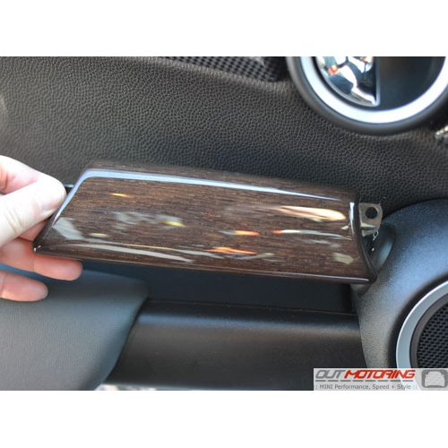 Door Handle Trim: English Oak: Left