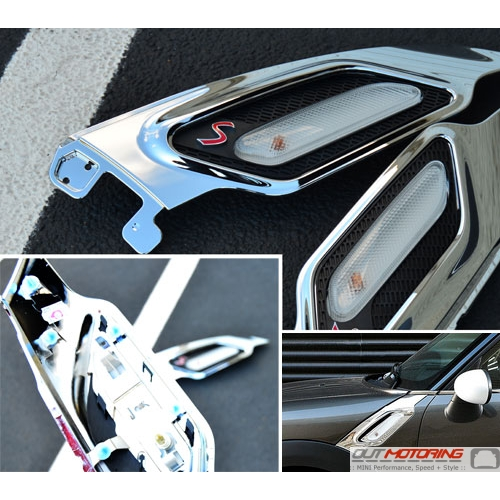 Side Marker Housing Set: R60/1 'S': Chrome
