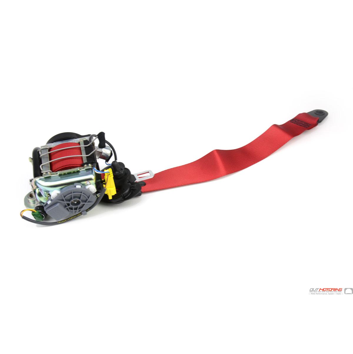 MINI Cooper Gp Red Seat Belts