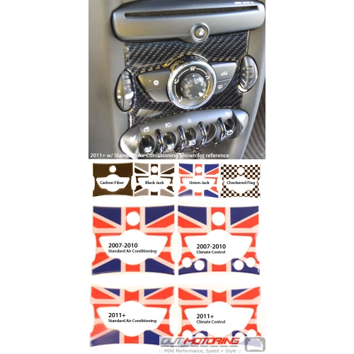 Center Console Accent Badge