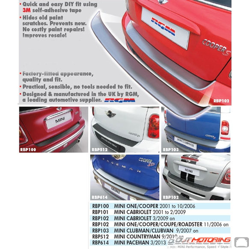 Heavy Duty Rear Bumper Guard