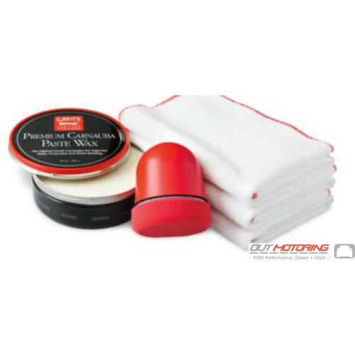 Griots Premium Carnauba Paste Wax Kit