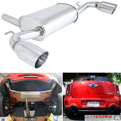Megan Racing Countryman S Rear Section Exhaust System - MINI