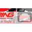 Side Marker Lights: LED Black 'ring style': R55/6/7/8/9