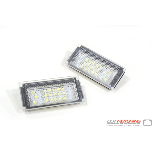 LED License Plate Light Set: Gen1