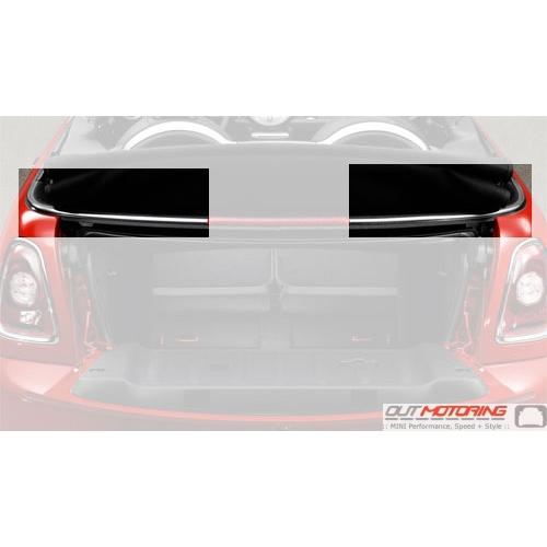 Used Mini Cooper Convertible >> MINI Convertible Rear Beltline Trim Replacement Kit R57 - MINI Cooper Accessories + MINI Cooper ...